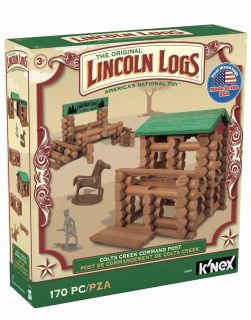 Lincoln Logs Colts Creek Command Post