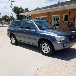2003 Toyota Highlander Base (BLUE)