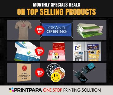 Explore & Experience the Greatest Bonanza of all times with PrintPapa!