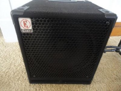 Eden Bass Amp Speaker Extension Cabinet