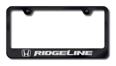 Sell Honda Ridgeline Laser Etched License Plate Frame-Black Made in USA Genuine motorcycle in San Tan Valley, Arizona, US, for US $34.49