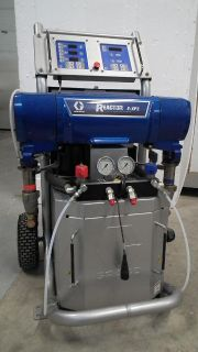 $4,000, Graco Reactor E-XP2 New complete with pumps, hoses, Probler P2 gun, mixer Etc.