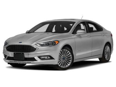 2018 Ford Fusion Hybrid Platinum (White)