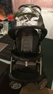 Fisher-Price Stand and Ride Duo Stroller