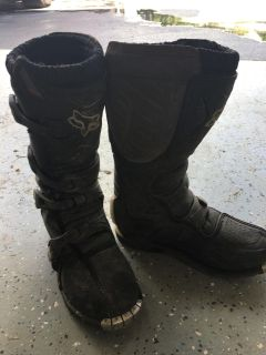 Youth motorcross riding boots sz 6