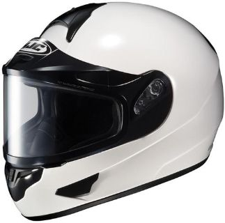 Sell HJC CL-16SN White Snow Full-Face Motorcycle Helmet CL16SN Size Small motorcycle in South Houston, Texas, US, for US $130.49