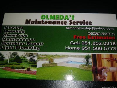 Olmeda's Maintenance Service