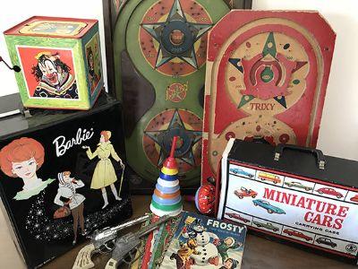 Toys, Tools, Vintage Wheatfield..