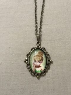 Disney Tinkerbell necklace NEW!