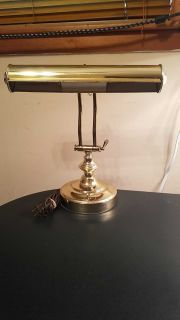 Brass Bankers Lamp - Adjustable Positions