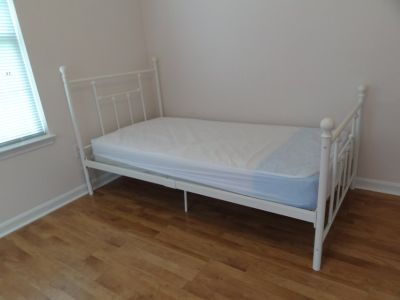 girls iron bed