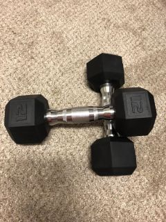 12 Lb free weights