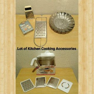 LOT OF KITCHEN COOKING ACCESSORIES