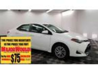 $15800.00 2018 TOYOTA Corolla with 31948 miles!
