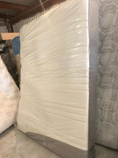Mattress and box spring queen size memory foam