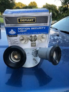 Outdoor light fixture no motion sensor works great-(b106)