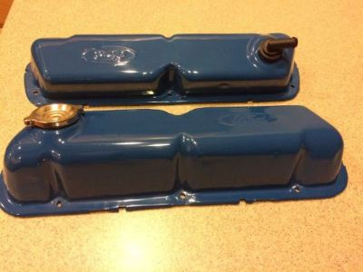 Buy Ford Mustang 289 302 Valve Covers 1964 1965 1966 1967 1968 1969 1970 1971 motorcycle in Wittmann, Arizona, United States