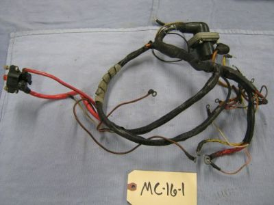 Buy Mercruiser 3.0 L Engine Harness, 93179A 1, lot M/C-16-1 motorcycle in Little Falls, Minnesota, United States, for US $85.00