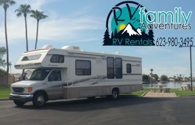 RV Rental - Class C for Rent - Satellite TV Included