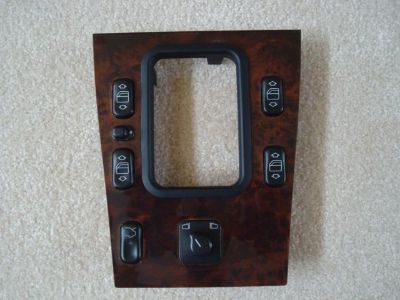 Sell Mercedes C Class W202 window master switch and wood bezel - console motorcycle in Ponte Vedra Beach, Florida, US, for US $99.00