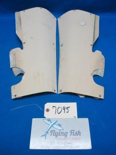 Sell Cessna 310 B 1956 Left and Right Vertical Stabilizer Fairing (7095) motorcycle in Melbourne, Florida, US, for US $215.99