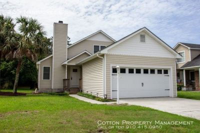 Beautiful 3BR/2BA in the Cape at Masonboro