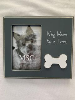 Adorable 4x6 dog picture frame