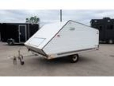 1998 R&R USED 8.5x10 snow trailer with cap