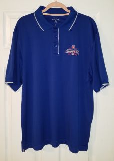 Polo Shirt - Chicago Cubs 2016 National League Champions Antigua Polo Shirt - Excellent Used Condition