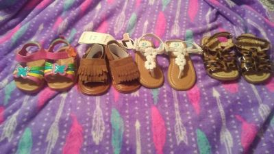 Baby Girl Sandals (separate prices and sizes below)