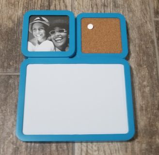 NEW Magnetic Dry Erase Board, Picture, & Cork Board