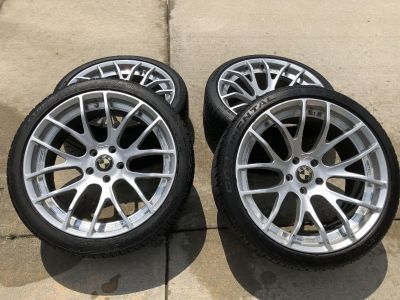 Breyton Wheels and Continental Extreme Contact DWS Tires