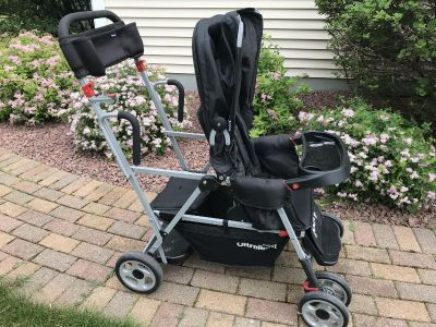 Joovy Ultra Light Caboose Sit and Stand double stroller