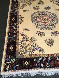 Area rug with match small rug