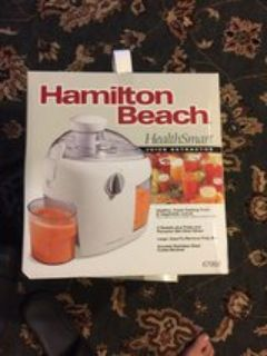 Brand new Hamilton Beach 67900 Juice Extractor