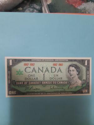 1967 CENTENNIAL ONE DOLLAR