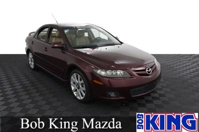 2008 Mazda Mazda6 s Sport Value Edition (Dark Cherry Mica)