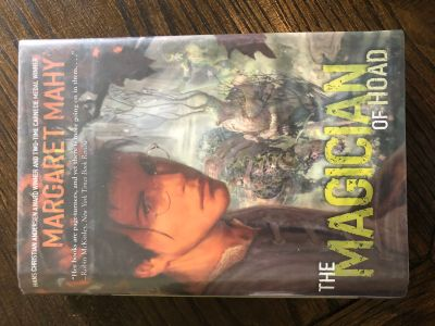 Hardback book The magician of Hoad