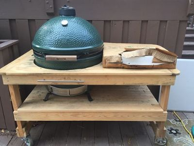 GRILL BIG GREEN EGG, EXTRA LARGE WITH ...