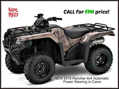 2018 Honda FourTrax Rancher 4x4 DCT EPS Utility ATVs Erie, PA