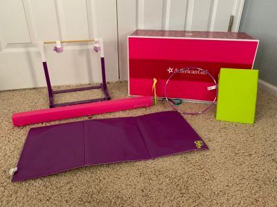 American Girl Bar/Beam and Accessories Set