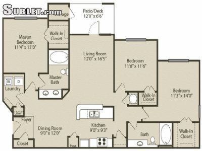 $2635 3 apartment in Fayette County