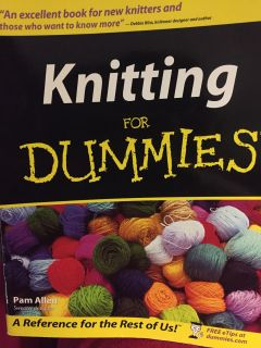 Knitting for Dummies Book