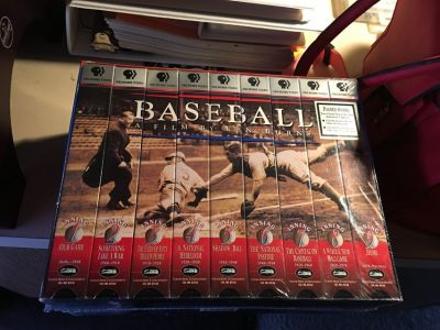 The History of basesball VHS series