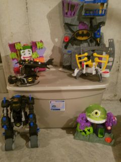 Imaginext playsets lot