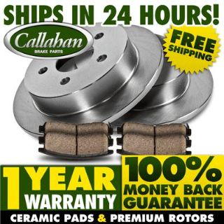 Buy REAR KIT-Premium Callahan OE High Quality Blank Brake Rotors Quiet Ceramic Pads motorcycle in Orland Park, Illinois, US, for US $74.10