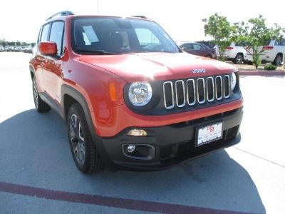2018 Jeep Renegade LATITUDE 4X2 (Omaha Orange)