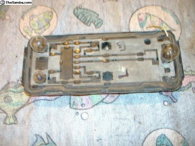 VW Vanagon tail light bulb circuit board