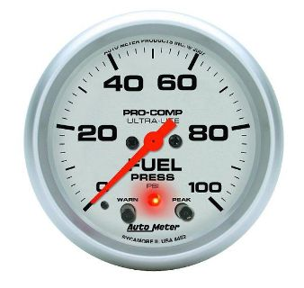 "Purchase Auto Meter 4472 Ultra Lite 2 5/8"" Mechanical Fuel Pressure Gauge 0-100 PSI motorcycle in Greenville, Wisconsin, US, for US $264.82"