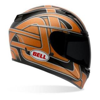 Purchase Bell Vortex Damage Full Face Motorcycle Helmet Orange Flake Size X-Small motorcycle in South Houston, Texas, US, for US $179.95
